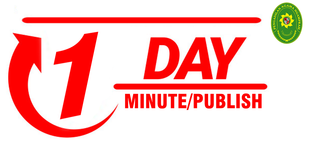 ONE DAY MINUT - ONE DAY PUBLISH