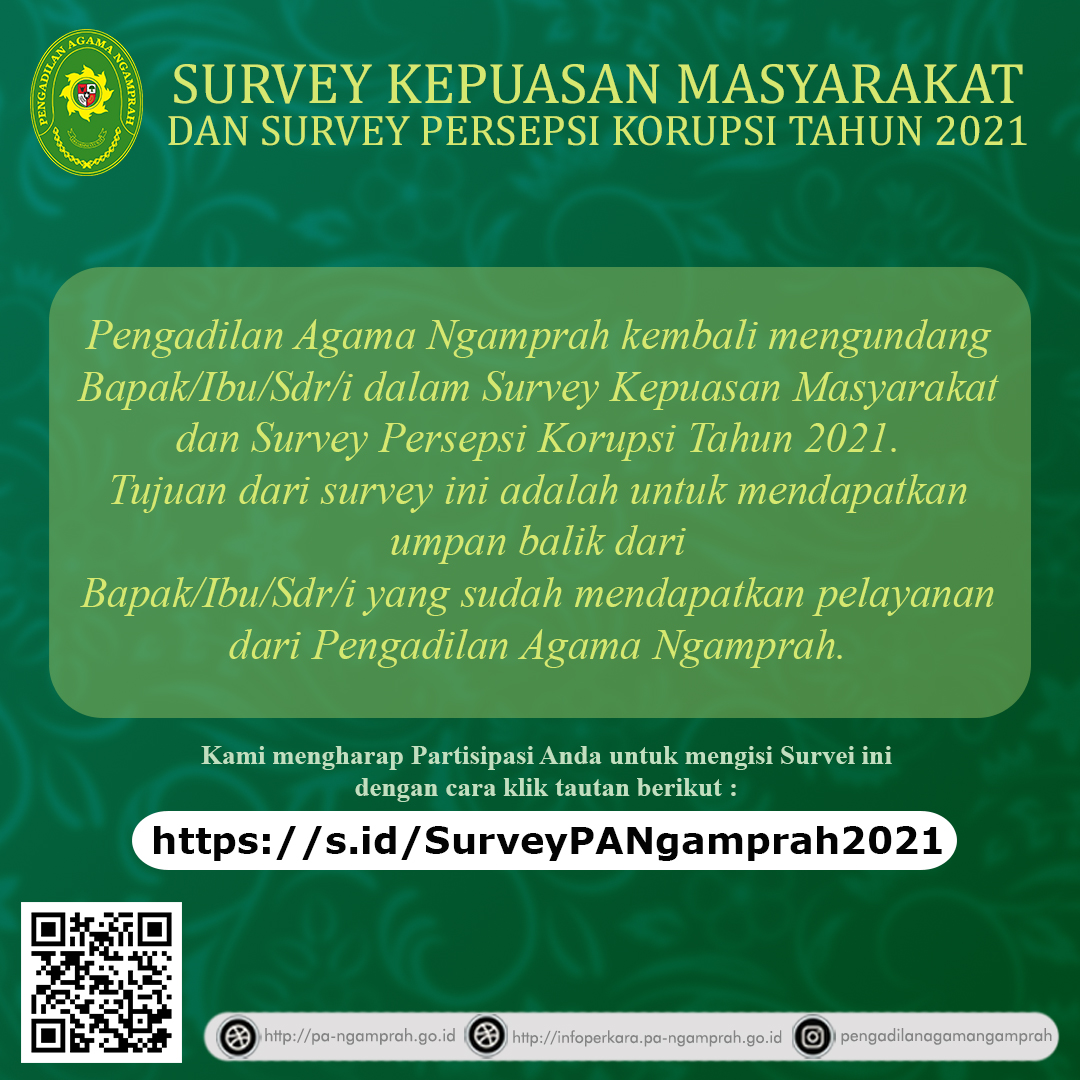 Survei Online Tahun 2021